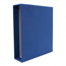 Slipcase cloth, blue