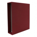 Slipcase cloth, red