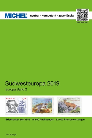 MICHEL South-West Europe Catalogue 2019 (EK 2)