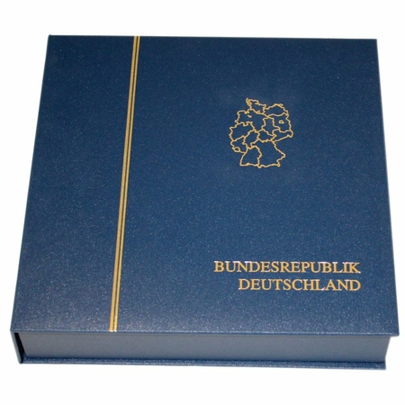 Premium 4 ring binder with integrated slipcase