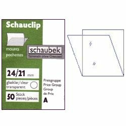 Schaubek screw post binder SET imitation leather